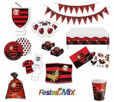 Kit Festa Flamengo - 24 Pessoas
