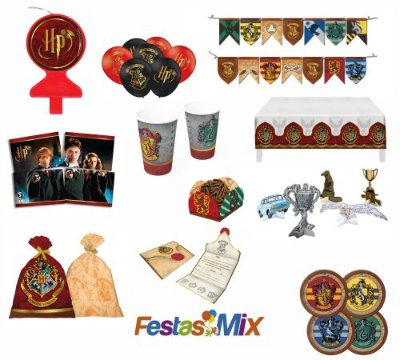 Kit Festa Harry Potter - 24 Pessoas