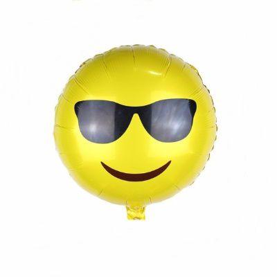 Balão Metalizado - Emoji II - 20 polegadas
