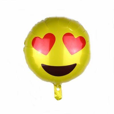 Balão Metalizado - Emoji VI - 20 polegadas