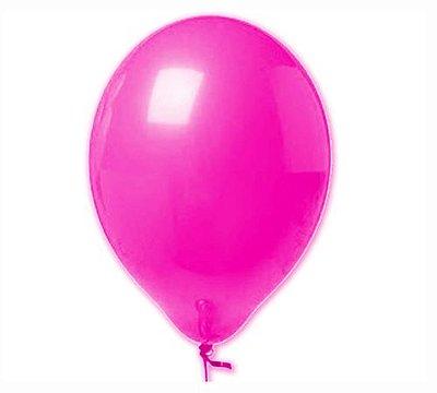Balão Neon nº9 - Pink Neon