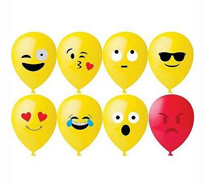 Balão Emoji nº11- 25 Unidades