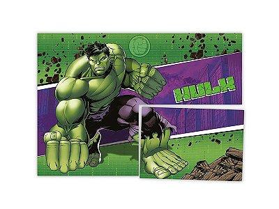 Painel 4 Folhas - Hulk