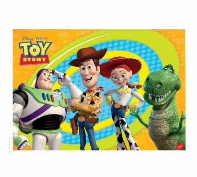 Painel 4 Folhas - Toy Story