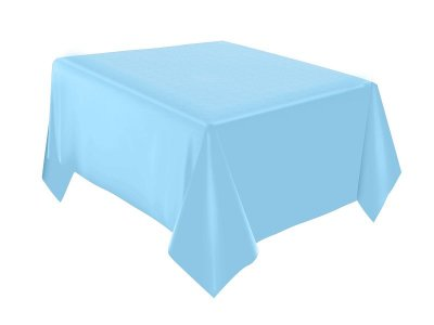 Toalha de Mesa - Festa Colors - Azul  bebê