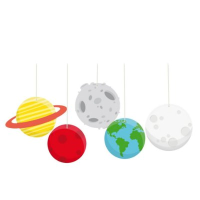Móbiles enfeites - Astronauta