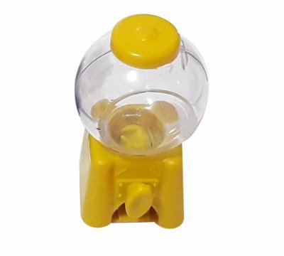 Mini baleiro Candy Machine -  Amarelo - 6 unidades