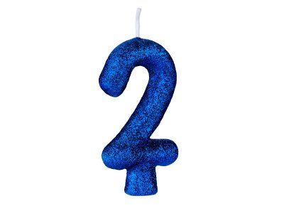 Vela Cintilante nº2 Azul