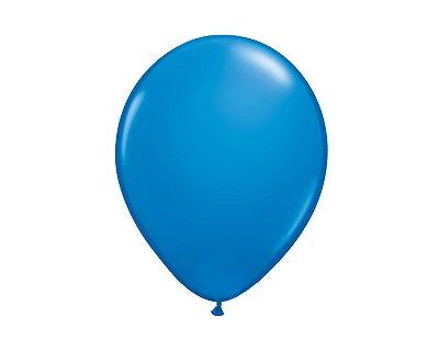 Balão Redondo Látex N° 8 - Azul - Art Latex
