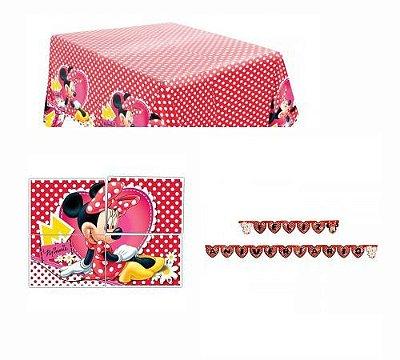 Kit Decoração de Festa - Minnie