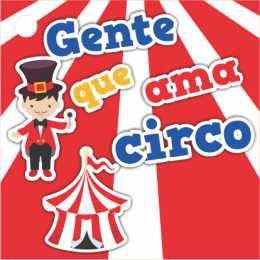 Tag para Lembrança - Circo - 24 und