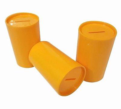 Cofrinho Amarelo 10cm