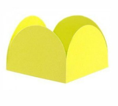 Porta Forminha - Amarelo c/50 unidades