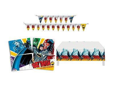 Kit Decoração de Festa - Batman