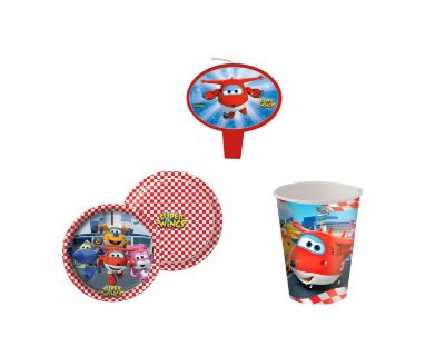 Kit Festa Basic - Super Wings