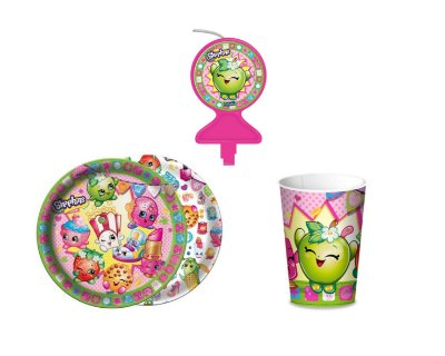 Kit Festa Basic - Shopkins