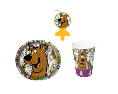 Kit Festa Basic - Scooby doo