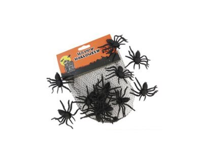 Kit Halloween Aranha - 12 unidades