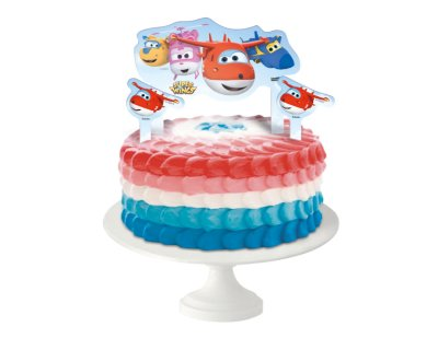 TOPPER PARA BOLO SUPER WINGS