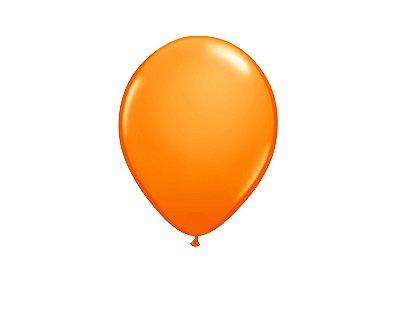 Balão Latéx 9 Polegadas - Laranja