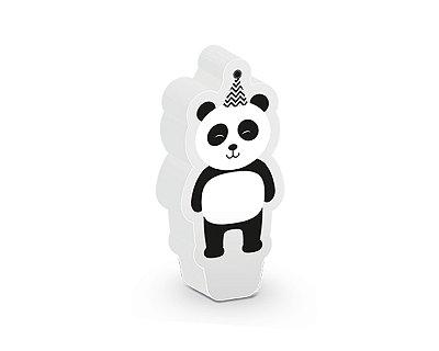 Vela Aniversário - Panda