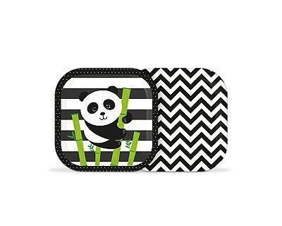 Prato de Papel Panda - 08 unidades