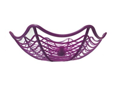Cesta Decorativa Halloween - Roxa