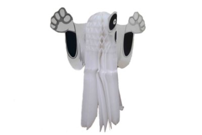 Lanterna Decorativa Halloween - Fantasma - 35cm
