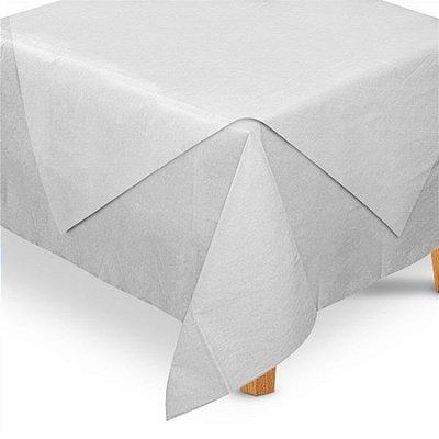 Toalha de Mesa TNT Convidados Branco- 70x70