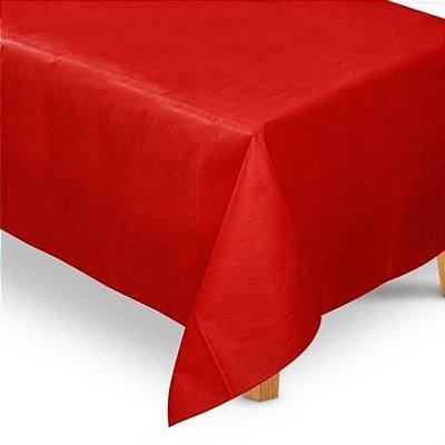 Toalha TNT Tampo - Vermelho -  2,20 x1,40