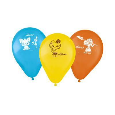 Balão Especial 9 polegadas - Moana - 25 unidades
