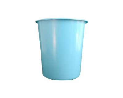 Balde Plástico de Pipoca - Azul Bebê - 01 litro