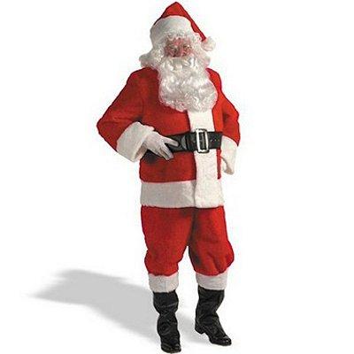 Fantasia Adulto Luxo - Papai Noel