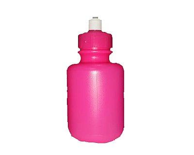 Squeeze Garrafinha Rosa Pink leitosa- 300 ml
