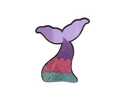 Painel - Cauda Sereia - 22x15cm