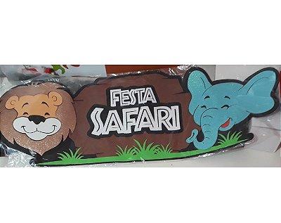 Painel Festa Safari - EVA