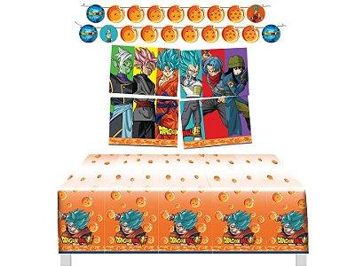 Kit Decoração de Festa - Dragon Ball