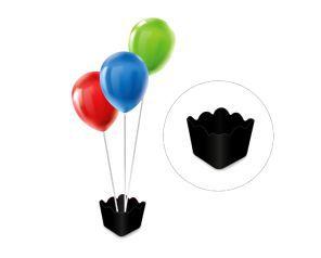 Cachepot com pega balão - Preto