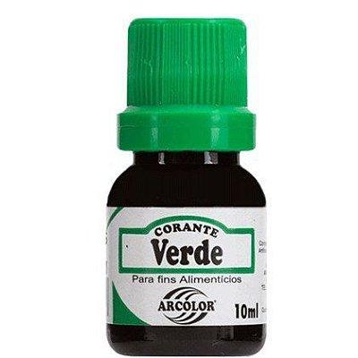 Corante líquido 10ml - Verde