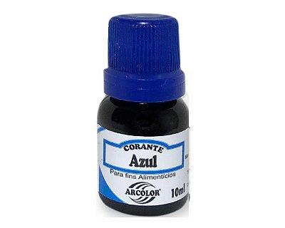 Corante líquido 10ml - Azul