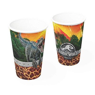 Copo Descartável 200ml - Jurassic World - 08 unidades