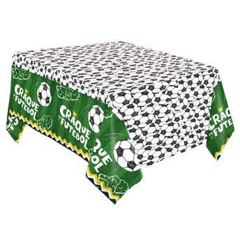 Futebol Toalha de Mesa Papel -120x220cm