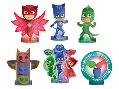 Decoracao De Mesa - Pj Masks