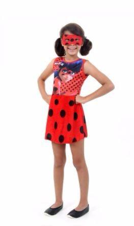 Fantasia Infantil - Ladybug Faces - G