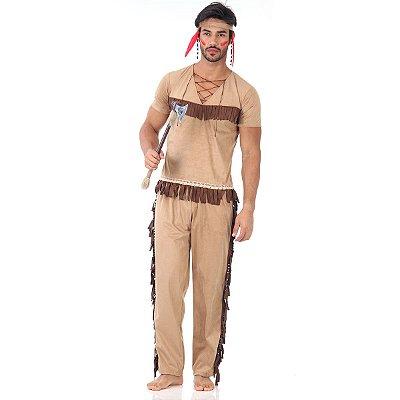 Fantasia - Índio Adulto P
