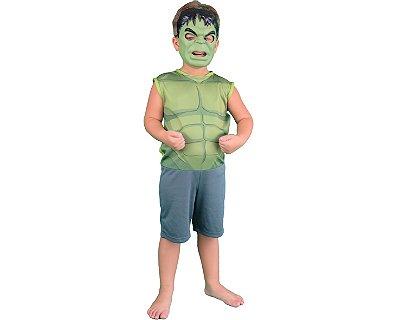 Fantasia Infantil Pop - Hulk - P
