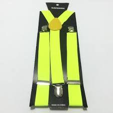 Suspensório - Amarelo Neon