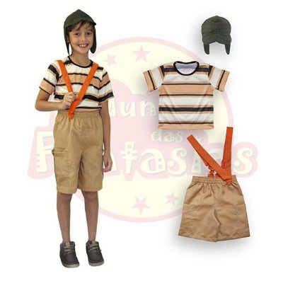 Fantasia Infantil Chaves 6 anos