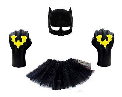 Fantasia Carnaval Feminina - Batman