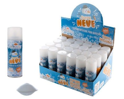 Spray Neve - Espuma Artificial - 1 unidade